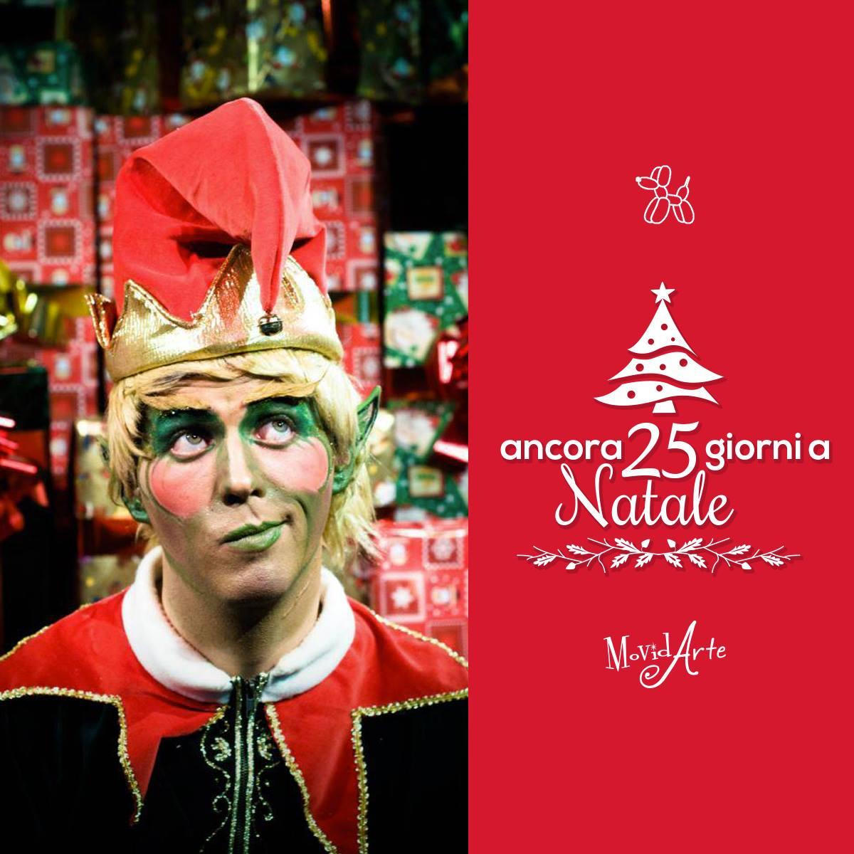 Ancora 25 giorni a Natale