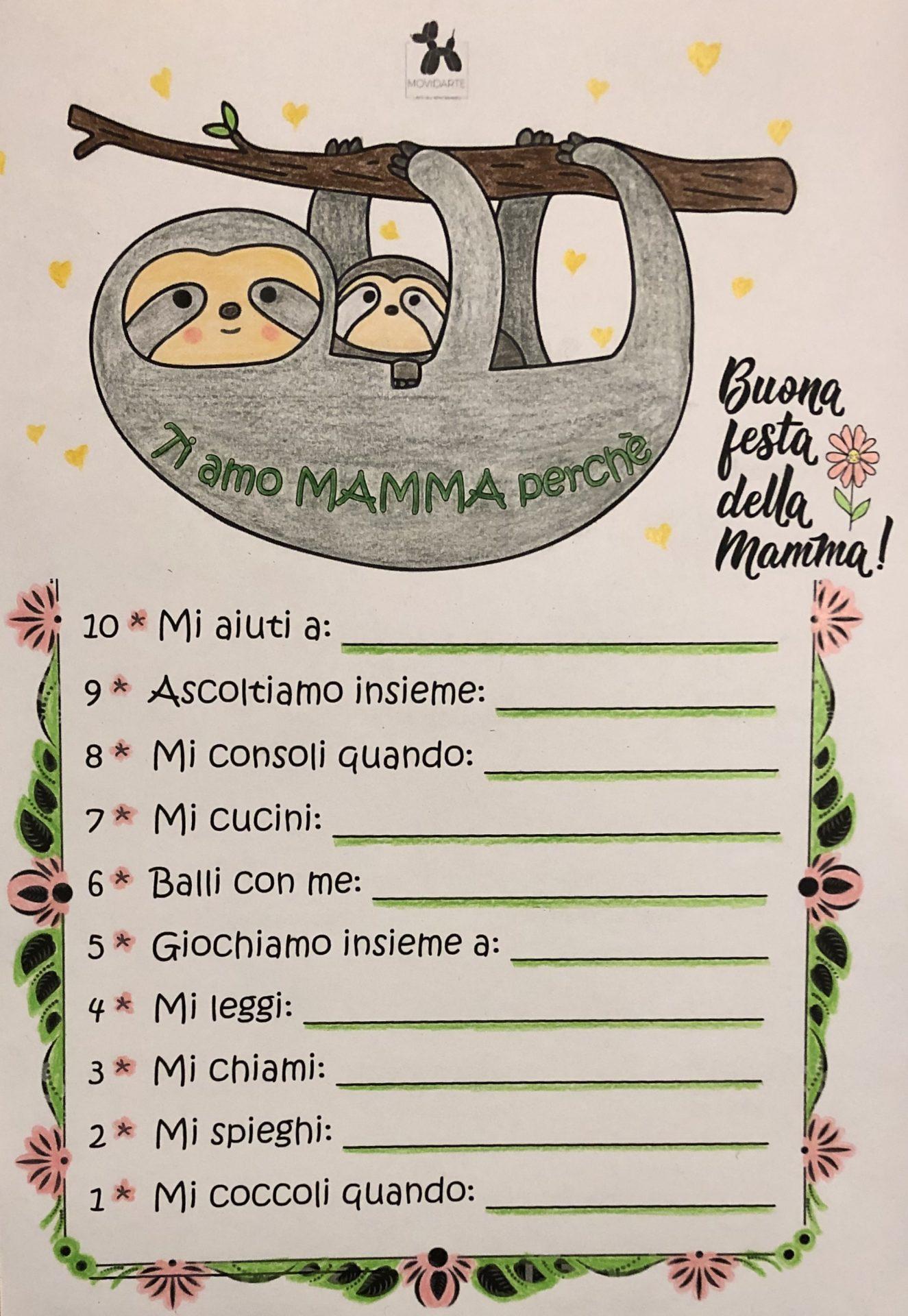 Festa della Mamma Movidarte