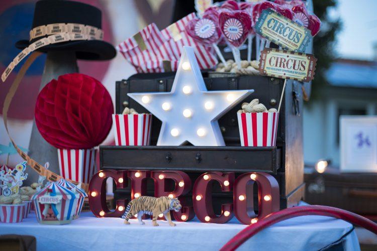 Feste in Sicurezza con Movidarte - Festa di compleanno a tema Circo - Feste a tema
